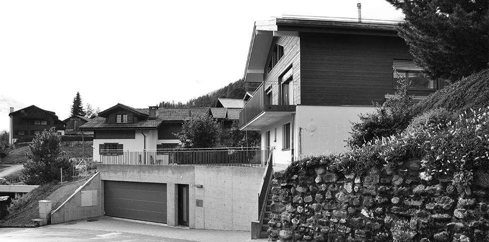 Umbau Einfamilienhaus Ensmann, Klosters