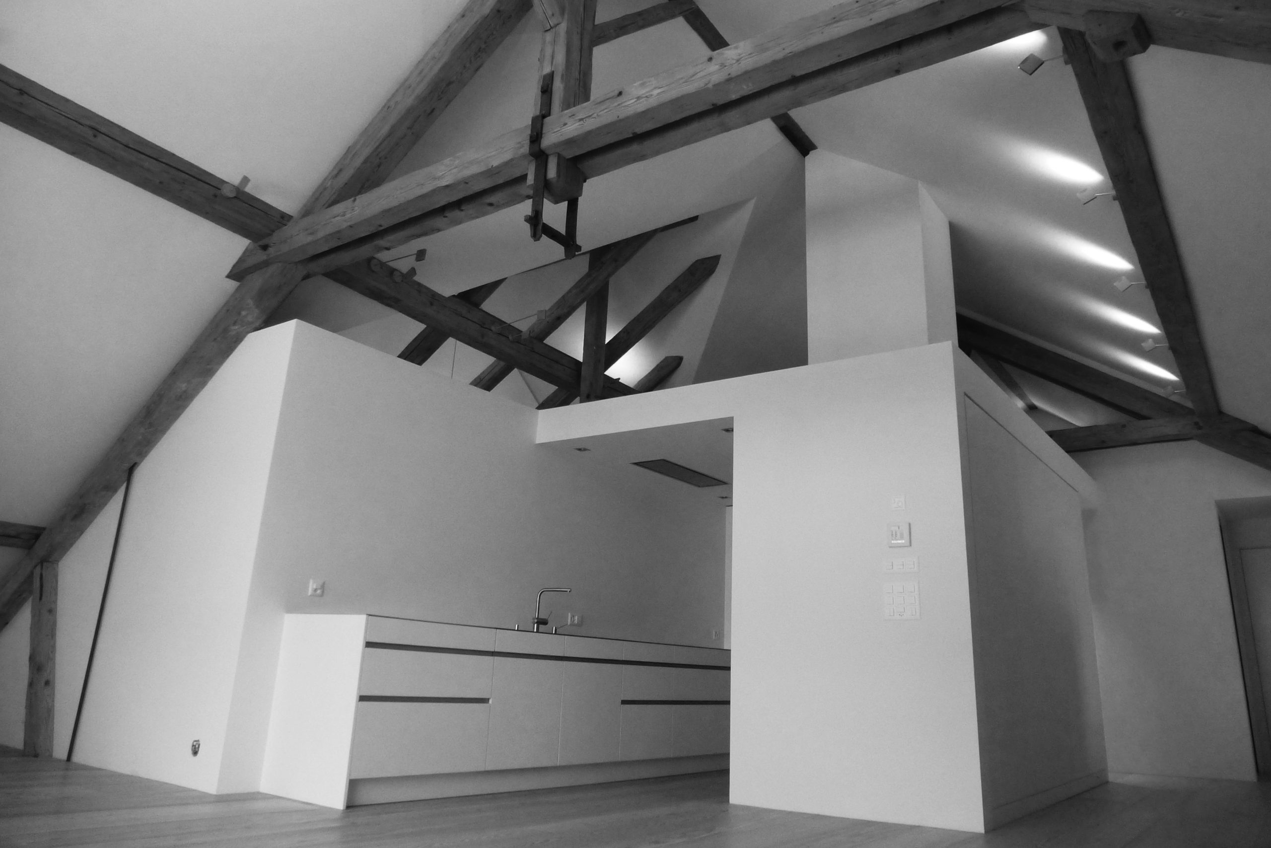 Umbau und Sanierung Wohnhaus mit Ausbau Dachstock