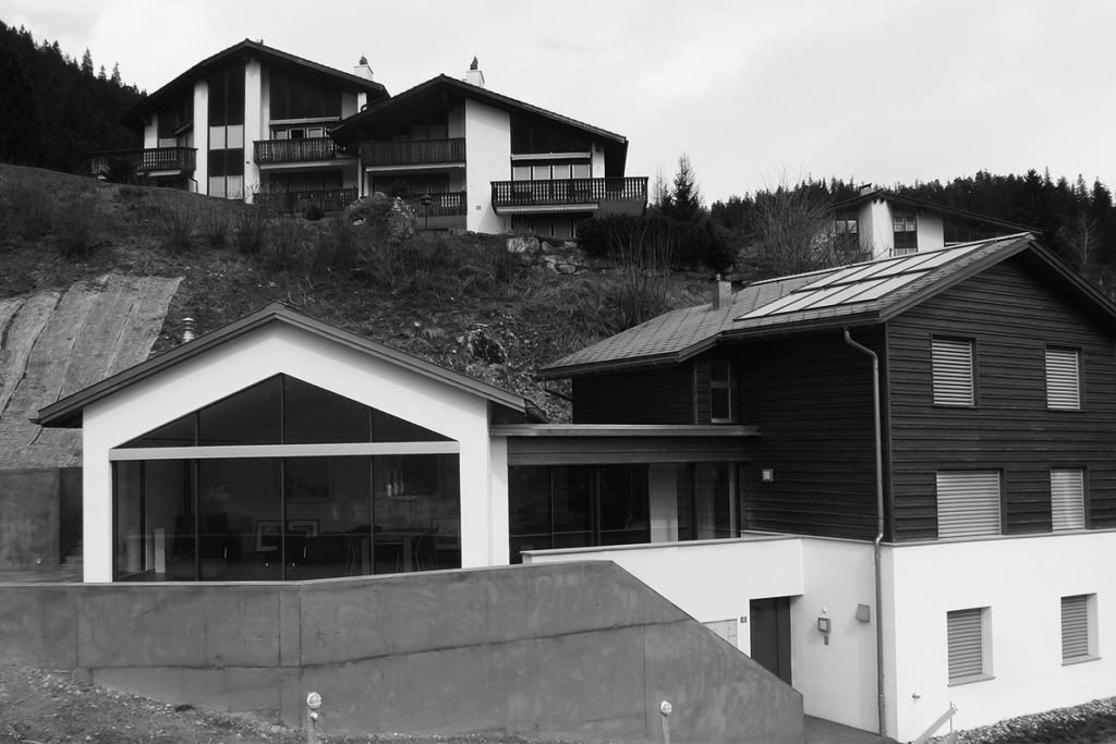 Umbau und Renovation EFH Zinnhardt, Laax