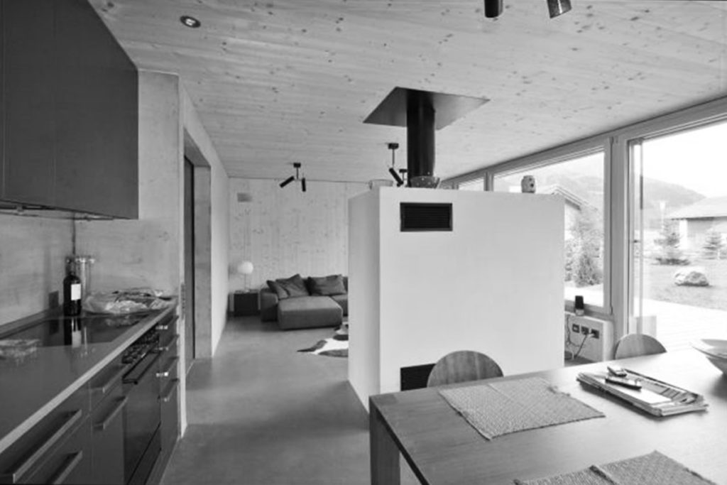 Neubau Ferienhaus, Lumbrein