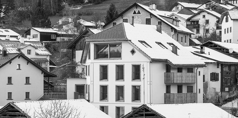 Totalsanierung MFH Casa Chochetta, Sagogn