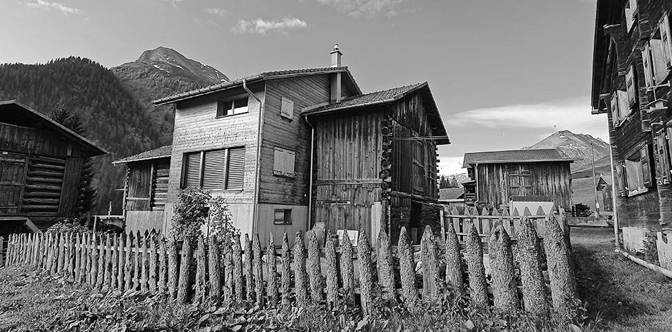 Einfamilienhaus, Vrin Dado