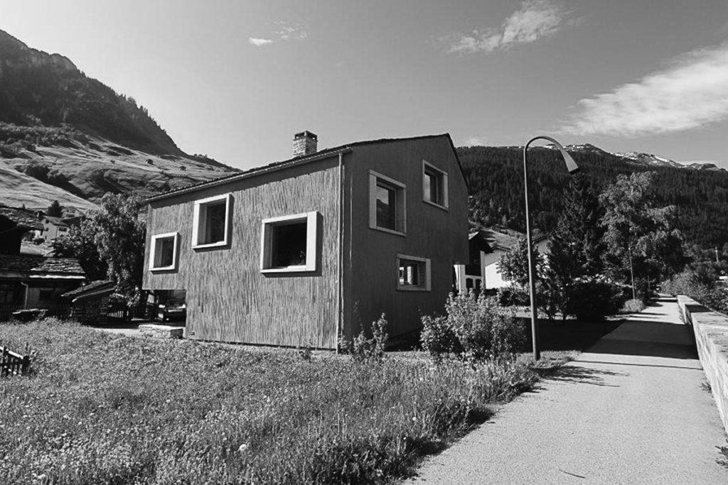 Neubau Wohnhaus, Vals