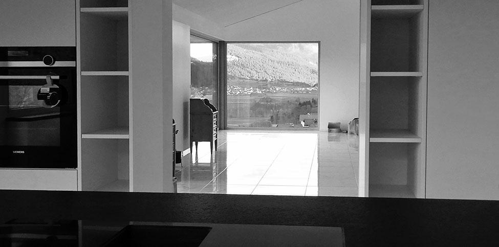 Neubau Wohnhaus Curschetta, Sevgein